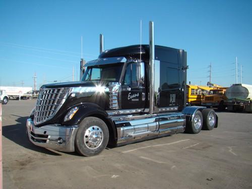 George Evans, Evans Trucking
