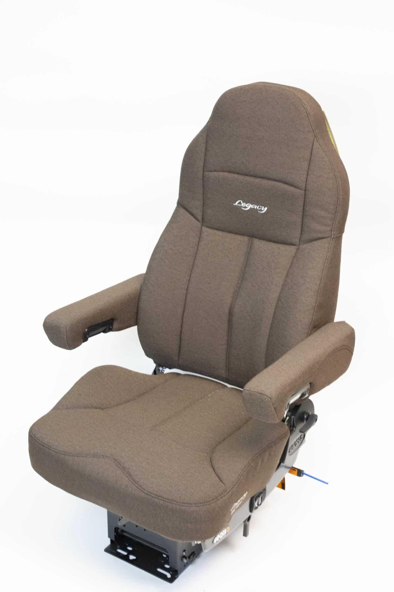 Legacy Silver Seat (Brown TuffTex Cloth)